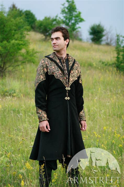 Medieval clothing - exclusive fantasy prince overcoat garb