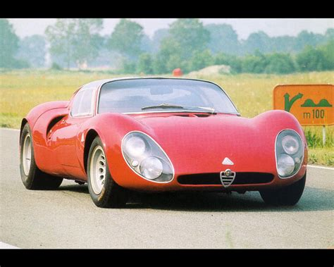 Alfa Romeo Stradale Wallpaper by 1967 Alfa Romeo 33 Stradale Related Infomation