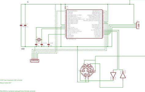 Wiring Diagram For Computer Mouse by Ps2 Keyboard To Usb Wiring Diagram Electrical Website