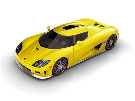 2006 Koenigsegg Ccx Yellow Side Angle Top