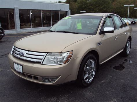 ford taurus  awd limited stock   sale