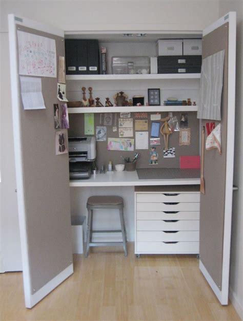 25 best ideas about closet office on closet