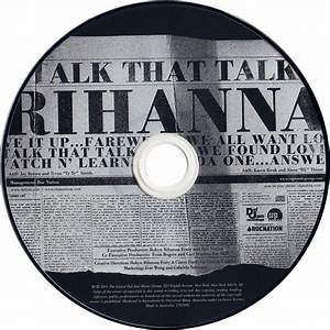 Carátula Cd de Rihanna - Talk That Talk (Deluxe Edition ...