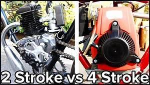 2-stroke Vs 4-stroke Motorized Bicycle  Gopro