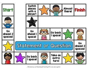 statement  question game  teaching  love