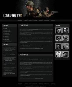 Forum Call Of Duty : call of duty 2 template free website templates ~ Medecine-chirurgie-esthetiques.com Avis de Voitures