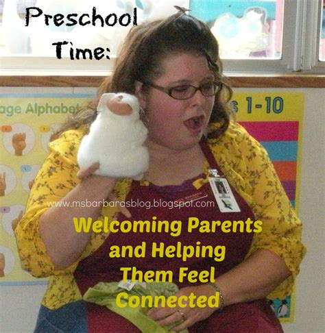 for the children preschool time welcoming parents and 732 | 032 (2)
