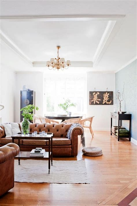 Living Room Colour Ideas Brown Sofa by Design Classic The Leather Chesterfield Sofa Dear Designer