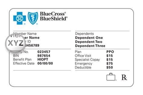 Number (or policy number) on the insurance card indicates the coverage your plan provides. Member Services | Blue Cross Blue Shield