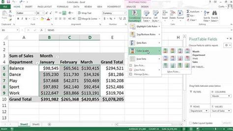 excel pivot table tutorial excel tutorials training lynda com