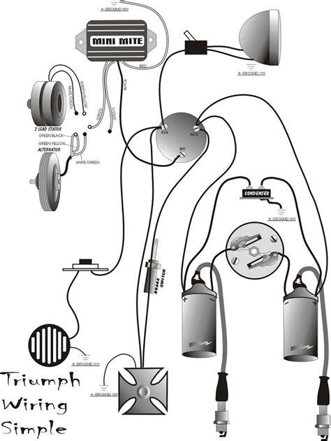 Wiring System Triumph Choppers Pinterest