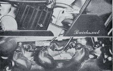 Buick Engine Identification Where Find The Numbers