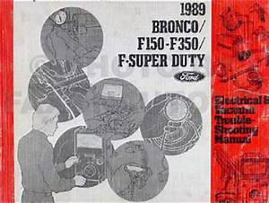 1989 Ford Truck Repair Shop Manual Set F150 F250 F350