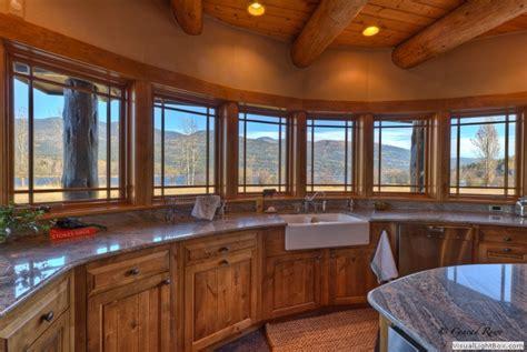 log home  whitefish mt estate