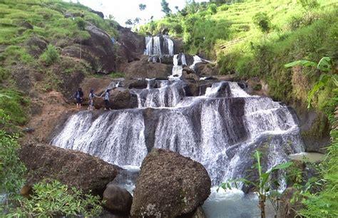 air terjun kedung kandang nglanggeran wisata alam terbaru