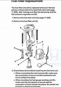 Replace Car Fuel Filter For 2009 Honda Accord