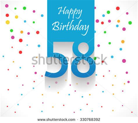 80 years happy birthday background card stock vector