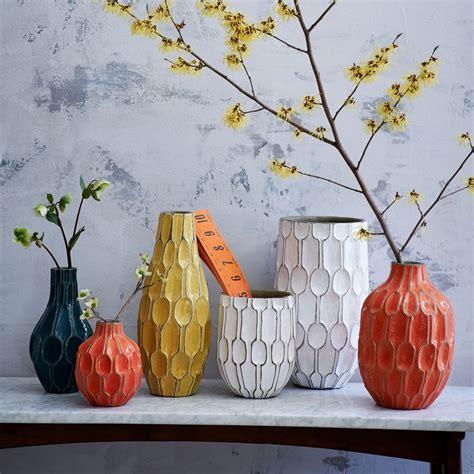 linework vases honeycomb west elm au