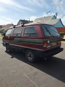 1988 Toyota 4x4 Van 5 Speed Manual Transmission For Sale