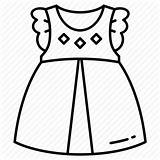 Clothes Baby Drawing Dress Icon Shopping Apparel Kidswear Icons Drawings Paintingvalley Collection sketch template