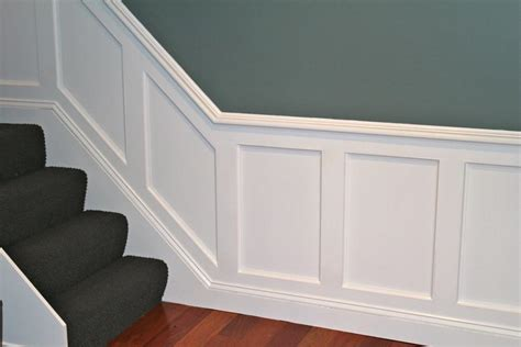 Wainscoting Installation by Flat Panel Wainscoting Photos