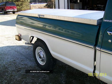 ford  pickup camper special