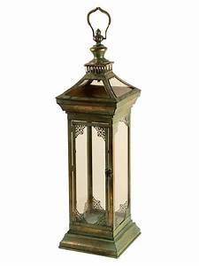 Lanterna Marroquina Rústica p/ Decoração 70cm - Arte