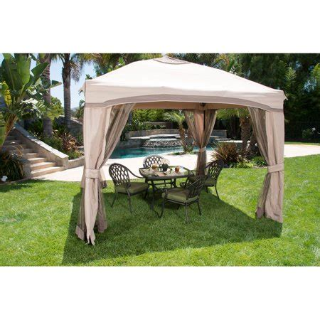 gazebo portatile portable patio gazebo with single roof netting 10 x 10