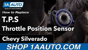 How To Replace Tps Throttle Position Sensor 00
