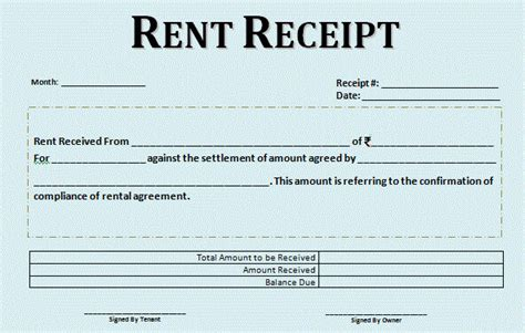 complete guide rent receipts and claim hra tax tax2win