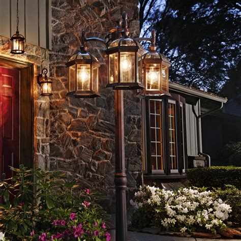 outdoor l post lights outdoor lighting buying guide