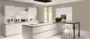 Petit Ilot Cuisine : modele de cuisine moderne avec ilot central ~ Premium-room.com Idées de Décoration