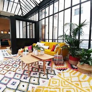 shopping chez la redoute interieurs o aventure deco With tapis berbere avec canapé jaune curry