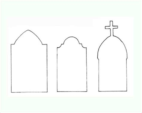 Tombstone Templates For by 22 Printable Templates Creativetemplate