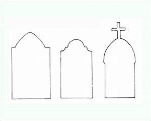 22 printable halloween templates creativetemplate With tombstone templates for halloween