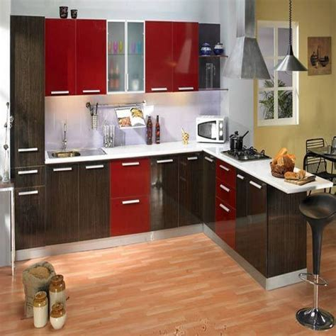 portable kitchen cabinets india godrej modular kitchen with marine ply shutter at rs