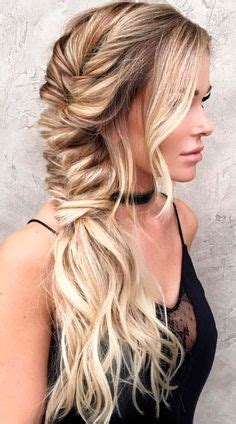 imagenes encantadoras trenzas de lado hair makeup