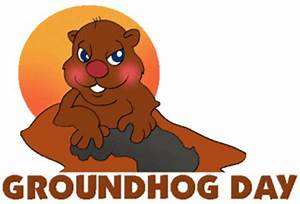Free Groundhog Day Clipart - Clipart For Work