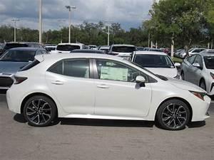 New 2020 Toyota Corolla Hatchback Xse Manual  Natl  Xse