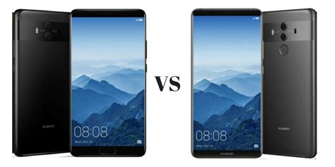 huawei mate 10 vs mate 10 pro what are the differences