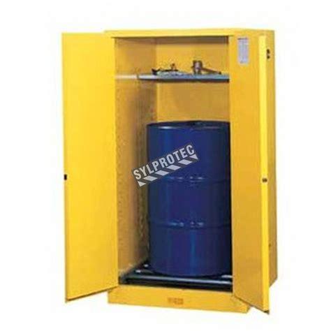 justrite vertical storage cabinet  drums