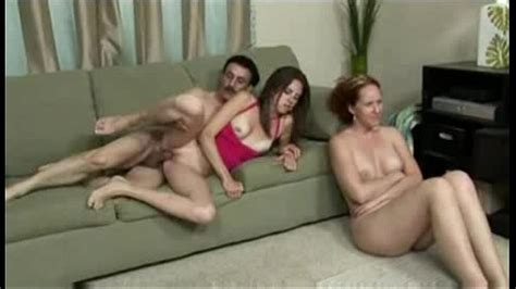 Wife Watches Husband Fuck