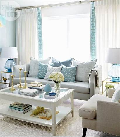 Living Rooms Decor Navy Wall Traditional