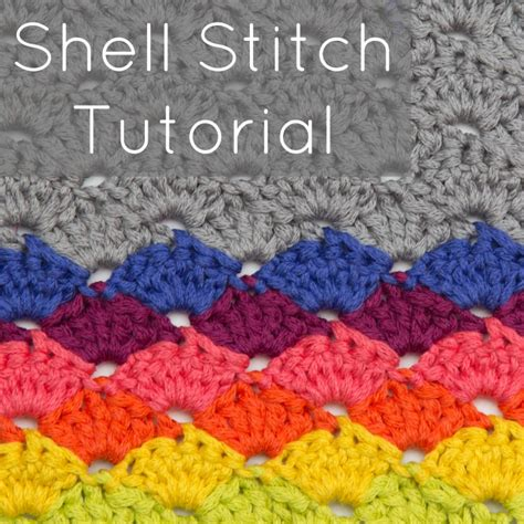 shell stitch crochet crochet shell stitch tutorial patterns