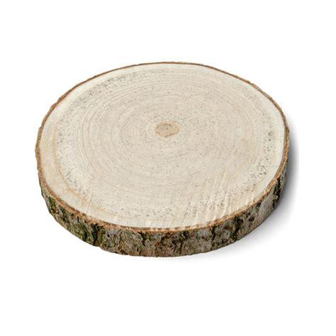 decoration de table rondin de bois