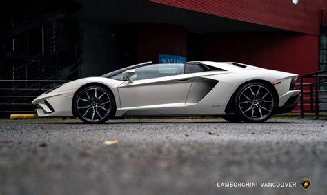 lamborghini aventador s roadster lease 2019 lamborghini aventador s roadster lamborghini vancouver
