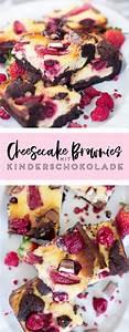 Backen Mit Kinderschokolade : cheesecake brownies mit beeren und kinderschokolade desserts kuchen schokolade kinder ~ Frokenaadalensverden.com Haus und Dekorationen