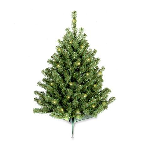 national tree 3 foot eastern spruce christmas tree pre lit