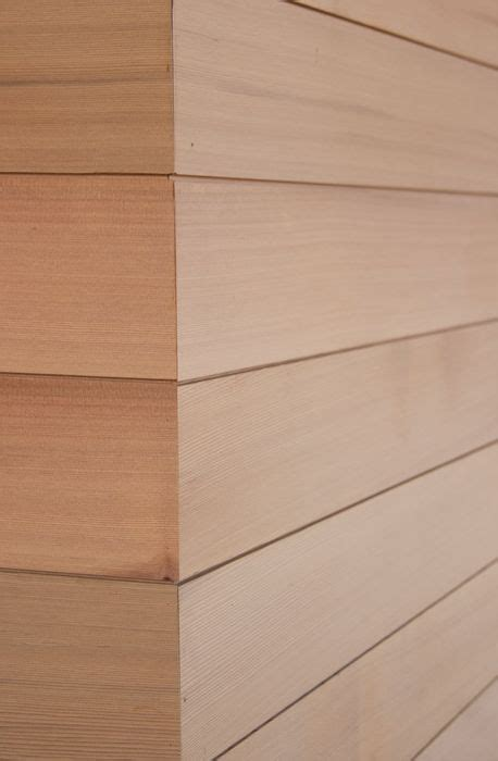 Ship Plank Siding by Shiplap Outside Corner Stained Pine Reclaimed Exterior
