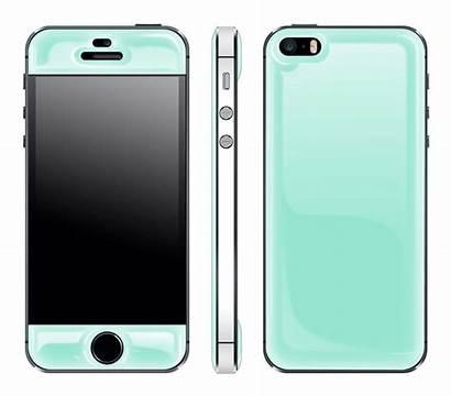 Iphone Mint 5s Glow Champagne Skin Case